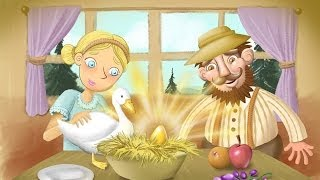 English Story for Children - The Goose that Laid the Golden Egg