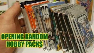 Random Football Card Hobby Pack Opening. Hits For Days!