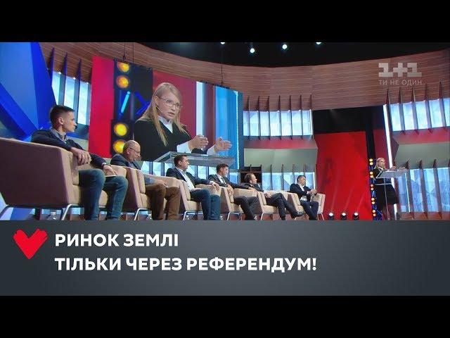Юлія Тимошенко проти поспішного відкриття ринку землі