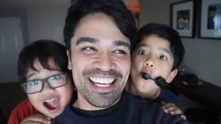 SUPER FUN HIDE AND SEEK | RAINY DAY | Raising Champions Vlogs