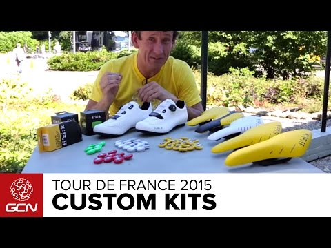 Red, Yellow, Green, and White: Custom Tour De France Kit