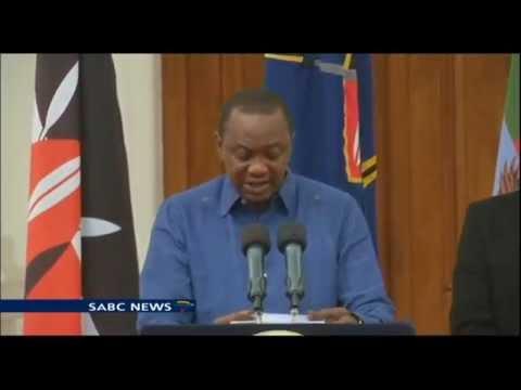 Uhuru Kenyatta declared 3 days of mourning