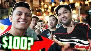 FAKE and REAL Sneakers at GREENHILLS! Manila, PHILIPPINES with Carlo Ople!