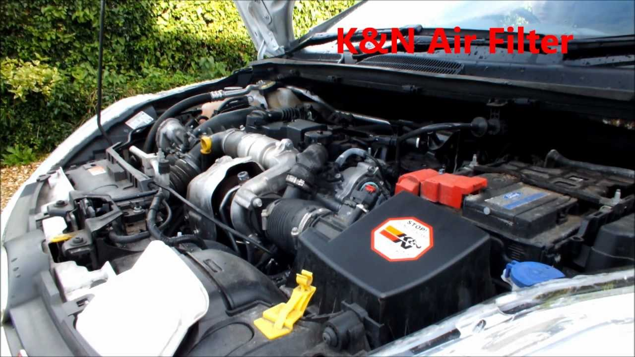 Ford Fiesta Mk7 2008 Present Air Filter Removal