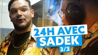 24H avec Sadek : Ninho et rencontre avec Xavier Pincemin de TopChef au Speakeasy