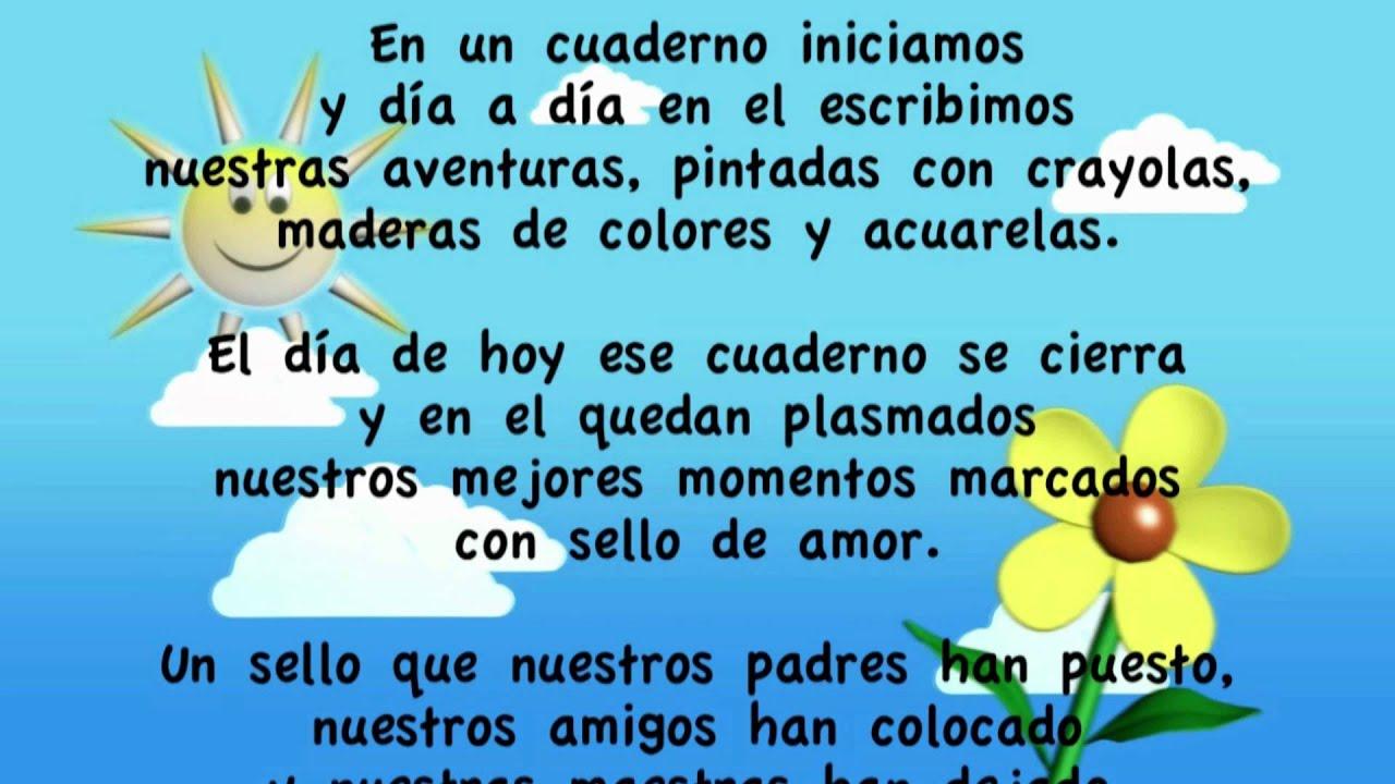 Poemas Para Ninos De Kinder
