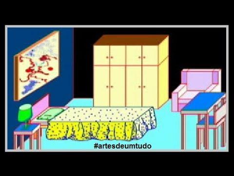 Como desenhar quarto youtube for Dormitorio animado