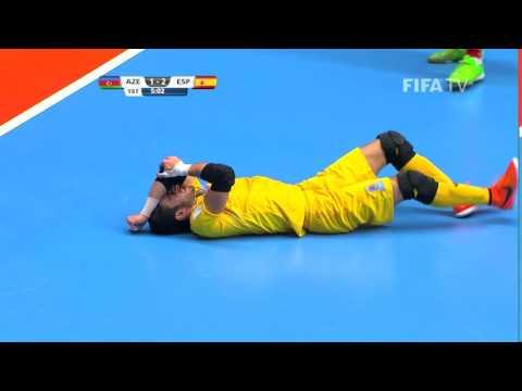 Match 24: Azerbaijan v Spain - FIFA Futsal World Cup 2016