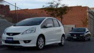 2010 Honda Fit Sport with Tanabe Touring Medallion Exhaust