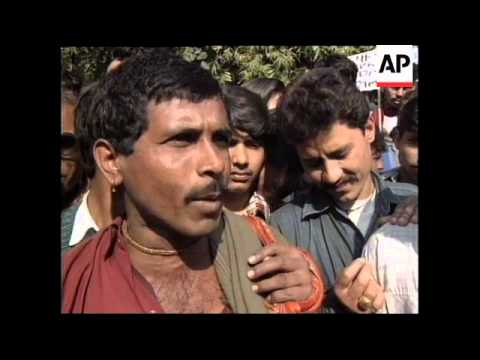 INDIA: DELHI: PROTESTS OVER FOOD & FUEL PRICE RISES