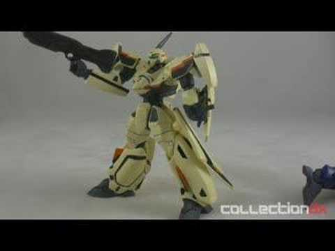 Revoltech Macross Plus YF-19 & YF-21 Comparison - CollectionDX