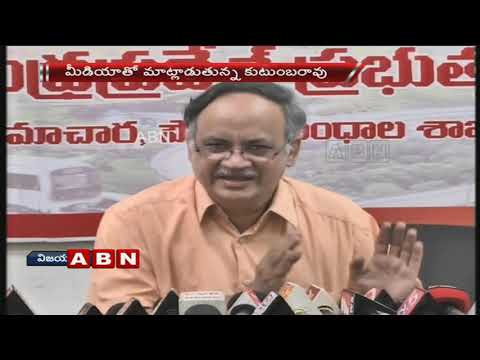 AP Planning Commission VC Kutumba Rao Speaks To Media | Slams YS Jagan | ABN Telugu