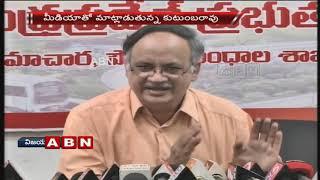 AP Planning Commission VC Kutumba Rao Speaks To Media   Slams YS Jagan