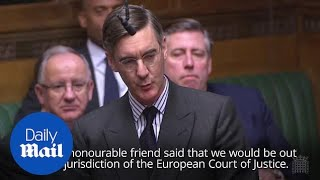 Jacob Rees-Mogg THREATENS Theresa May with vote of no confidence
