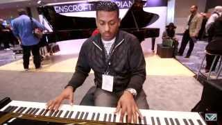 Erik Griggs plays Ravenscroft 275 VI at NAMM '15