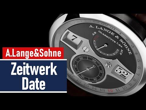 A Lange&Sohne Zeitwerk Date -  механические цифры + календарь | обзор часов