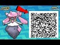 DIANCIE QR CODE EVENT! POKEMON ULTRA SUN AND MOON DIANCIE (HOW TO GET DIANCIE) (DIANCIE EVENT)