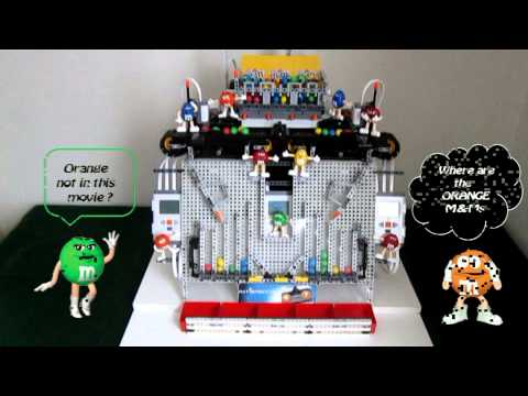 Lego Mindstorms NXT - The M&M Dispencer