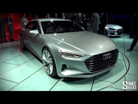 FIRST LOOK: Audi Prologue A9 Concept - LA Auto Show 2014