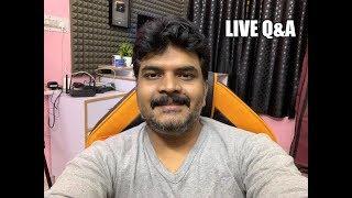Sunday Live Tech Q&A ll in Telugu ll