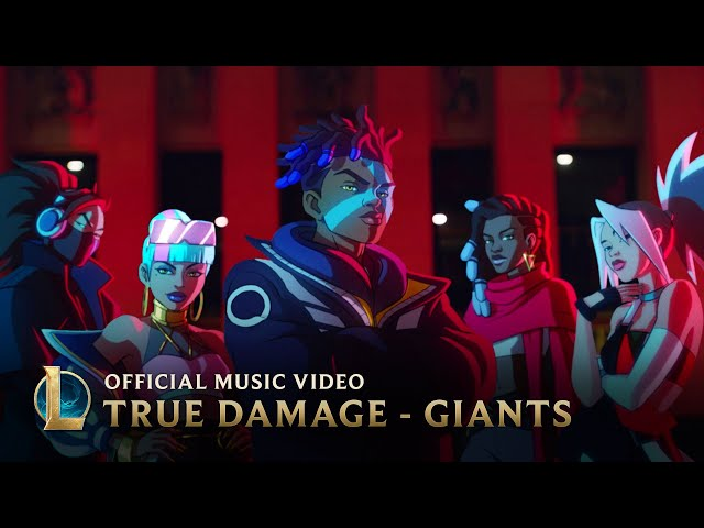 True Damage - GIANTS ft. Becky G, Keke Palmer, SOYEON, DUCKWRTH, Thutmose  League of Legends