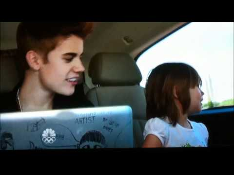 Justin Bieber Singing to his Little Sister, TOO CUTE Music Videos