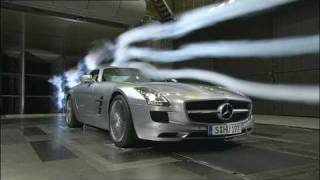 Mercedes-Benz SLS AMG Developement and Testing Wind tunnel