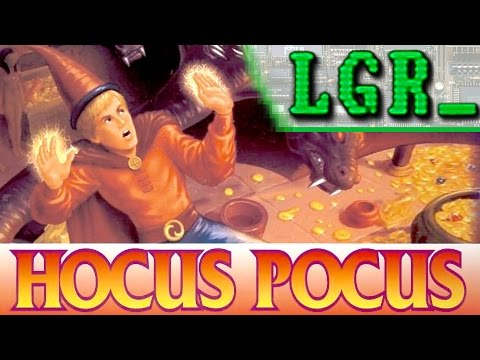 LGR - Hocus Pocus - DOS PC Game Review