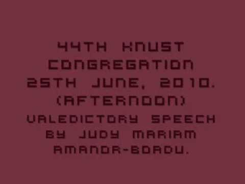 44th Knust Congregation (friday Afternoon) Judy Mariam Amanor-badu video