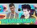 TheBrianMaps Попробовал Трум Трум Лайфхаки Реакция | BrianMaps | Реакция на БРАЙН МАПСА | BrianMaps