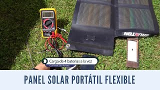 Panel Solar Flexible portatil - Brunton Solaris
