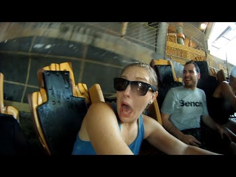 Riding Every Water Ride At Universal Islands Of Adventure In Orlando!!! (4.27.14)