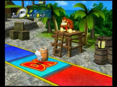 Mario Party 8 (4 Player) - Goomba's Booty Boardwalk
