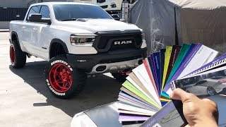 WRAPPING MY RAM REBEL IN SOMETHING ONE OF A KIND! *GAME CHANGER*
