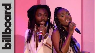 Tiana Major9 & EARTHGANG Perform 'Collide' Live! | Women in Music