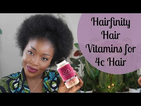 Hairfinity for Natural Hair l 60 Day Review