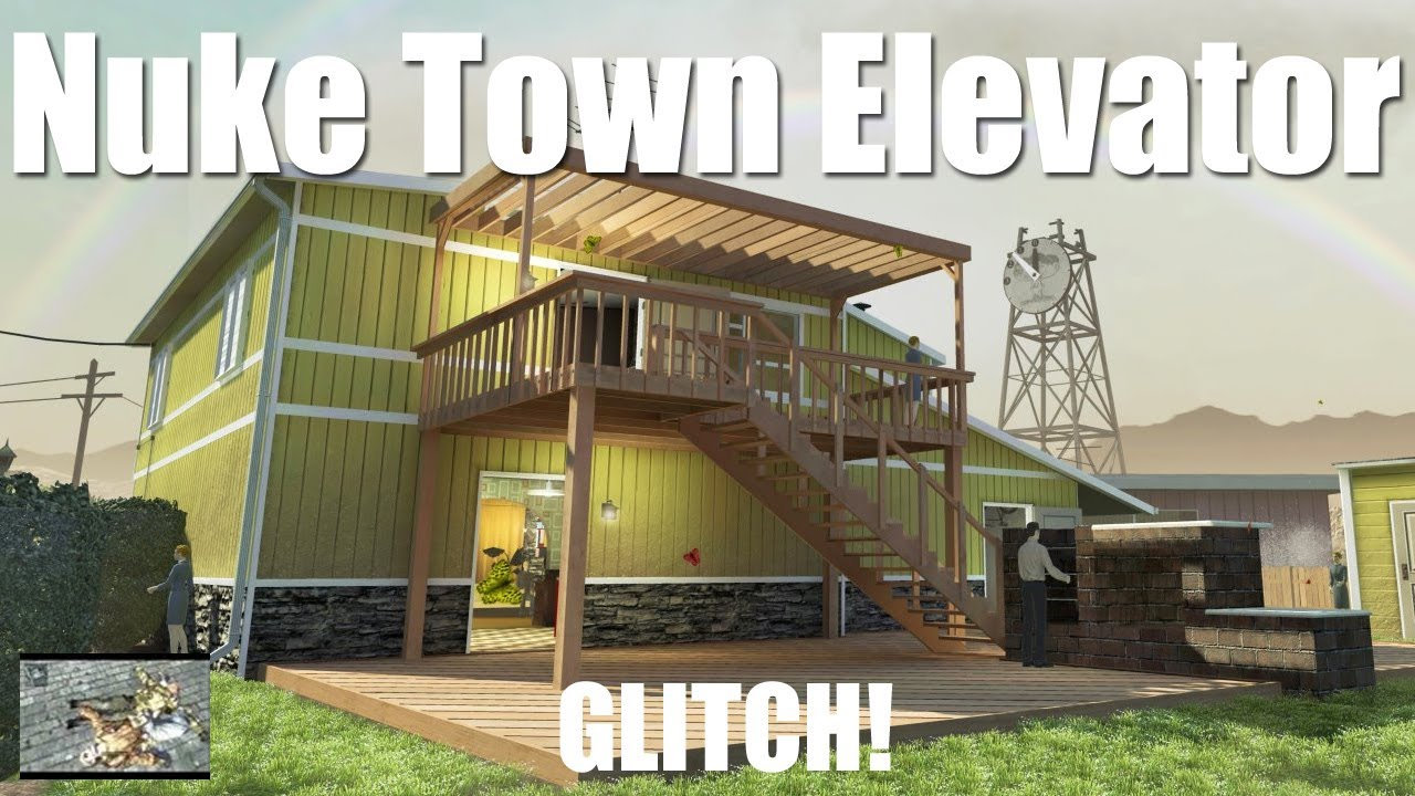 New Nuke Town Elevator Glitch Youtube