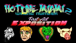 Hotline Miami 2: Wrong Number  - Часть 1 - Exposition