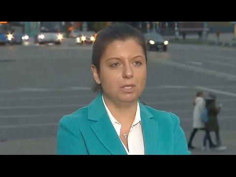 Маргарита Симоньян: Russia Today пытаются закрыть рот