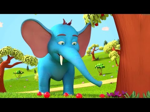 Riesen-Elefant-Lied | Reime für Kinder | deutsches lied | Kinder Gedichte | Giant Elephant Song
