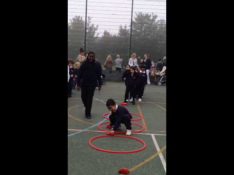 Christian's Sports day @ Hillbrook School 24/9/2013
