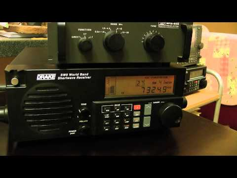 7325kHz Wantok Radio Light  di Port Moresby, PNG, 1kw / @ tavola di cucina