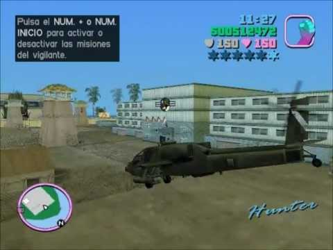 Como conseguir un Hunter en GTA Vice City