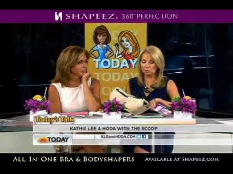 Shapeez Unbelievabra is too small for Kathy Lee Gifford on the Today Show
