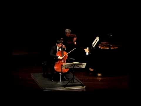 Brahms: Sonata in F Major for Cello and Piano, Op. 99, Mvt. IV