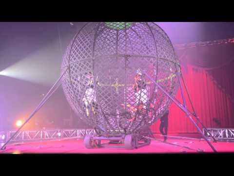Circus Vargas Globe of Death