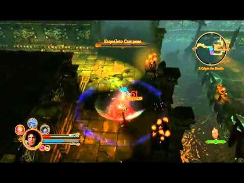 Dungeon Siege 3 br- cripta dos heróis
