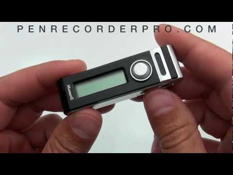 2GB Mini Clip Digital Voice Recorder Small Audio Recording Device (AUDIO DEMO)