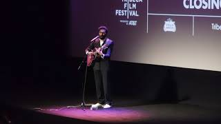 Himesh Patel sings Something following the World Premiere of YESTERDAY