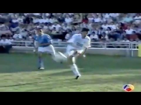 Peter Dubovský scores two goals, Real Madrid - Napoli 4:1 (Trofeo Carranza 1994)